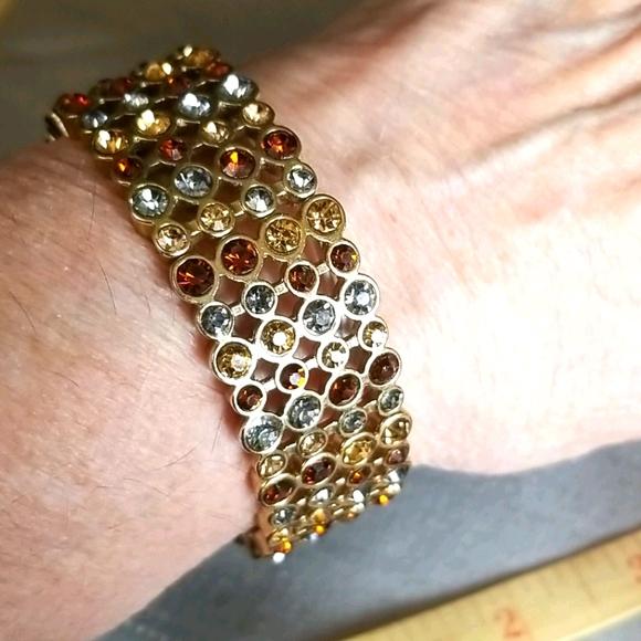 MONET 💥 BRIGHT RHINESTONE Bracelet